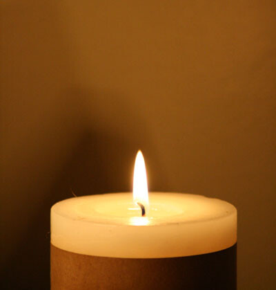 photo: candle
