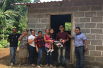 Another home built for a family in La Ceibita, Honduras.