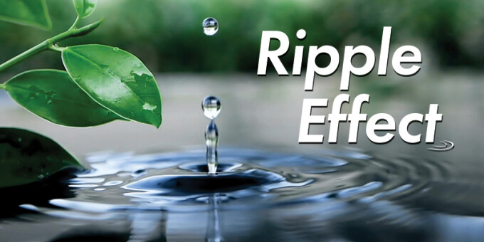 Ripple Effect: Give Generously